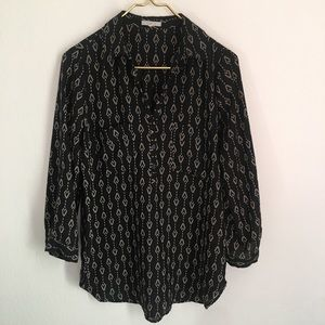 PLEIONE Erin Printed Blouse Size S